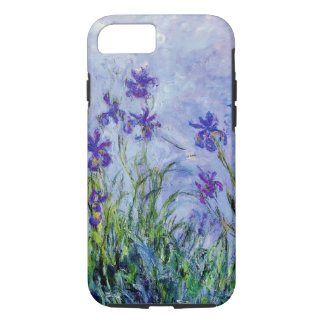 O Lilac de Claude Monet torna iridescente o azul Capa iPhone 7