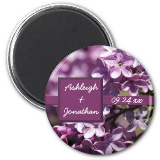 O Lilac floresce a imã salve a data