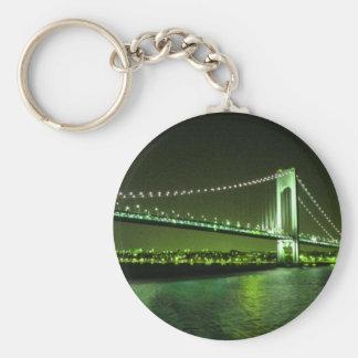 O limão cronometra o chaveiro da ponte