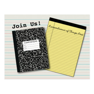 O livro dos comp(s) da reunião de escola, almofada cartão postal