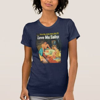 O LIXO ama-me marinheiro T-shirt