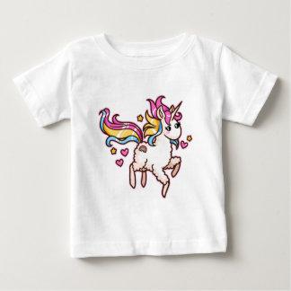O Llamacorn majestoso Camiseta Para Bebê