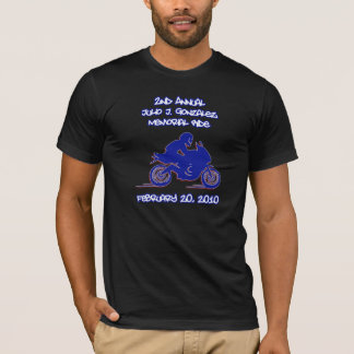 ò Logotipo anual do passeio de Julio J. Gonzalez Camiseta