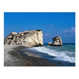 O lugar de nascimento do Afrodite, Pissouri, Cartão Postal