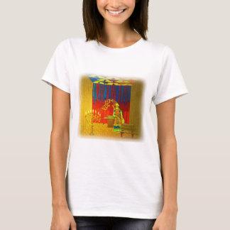 O lugar santo do tabernáculo com padre alto camiseta