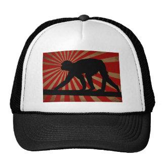 O macaco antigo - chapéu boné