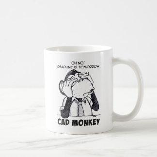 O macaco do CAD não vê nenhuma caneca de café má