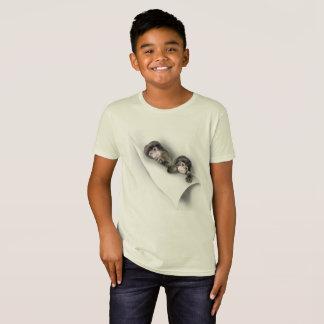 O macaco pequeno dos miúdos camiseta