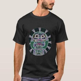 O macaco vê a arte popular tribal camiseta