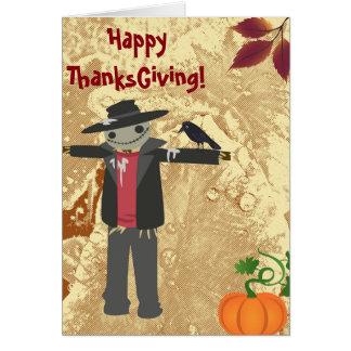 O mais grato para você - cartão da acção de graças