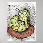 O Mako Vaping Caterpillar Poster