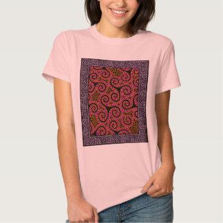 O malva espirala x3 tshirts