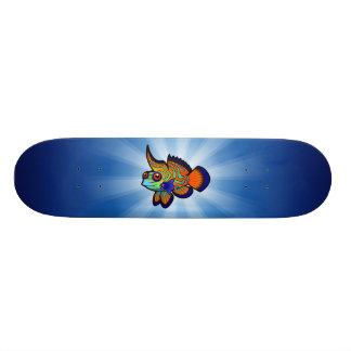 O mandarino dos desenhos animados/peixes de shape de skate 20,6cm