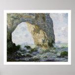 O Manneporte por Claude Monet Poster