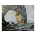 O Manneporte por Claude Monet Posters