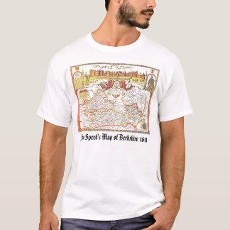 O mapa da velocidade de John de Berkshire 1611, Camiseta