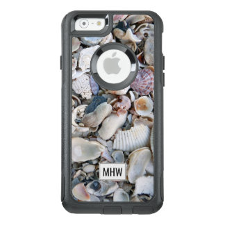O mar descasca capas de telefone feitas sob