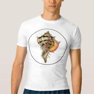 O mar do Murex descasca a ilustração do vintage Camiseta