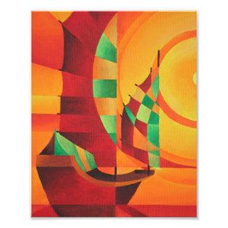 O Mar Vermelho Impressão Fotográficas