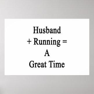 O marido mais o funcionamento iguala uma grande poster