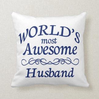 O marido o mais impressionante do mundo almofada