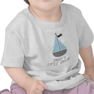 O marinheiro pequeno do pai tshirts