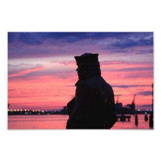 O marinheiro solitário impressão fotográficas