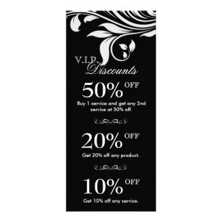O marketing do salão de beleza carda o branco pret planfeto informativo colorido