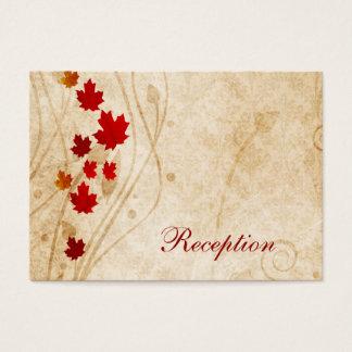 o marrom do outono da queda deixa cartões da