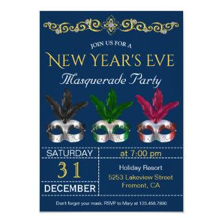 O mascarada mascara o convite de festas da véspera