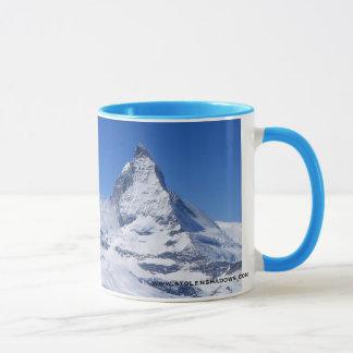 O Matterhorn da caneca de Gornergrat