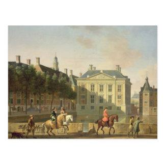O Mauritshuis do Langevijverburg Cartão Postal