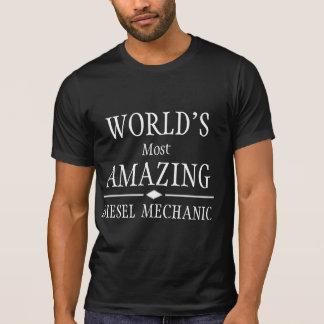 O mecânico diesel o mais surpreendente do mundo t-shirt