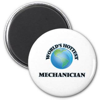 O Mechanician o mais quente do mundo Imãs