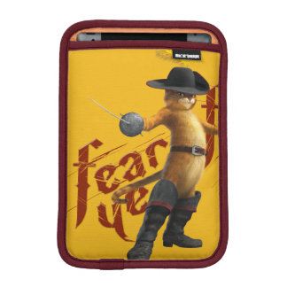 O medo YE teme o YE Luvas Para iPad Mini