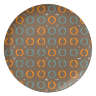O meio século moderno, Ovals, Stars a laranja Prato