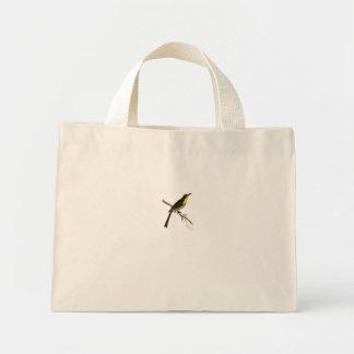 O mel amarelo do topete do vintage sugou a sacola  bolsa para compra