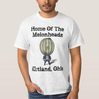 O melão de Melonheads dirige camisetas do Dr.