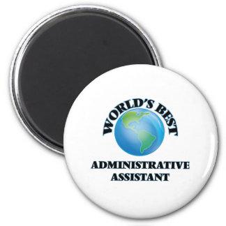 O melhor ajudante administrativo do mundo imãs