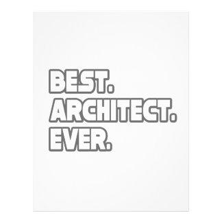 O melhor arquiteto nunca panfleto
