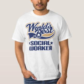 O melhor assistente social dos mundos t-shirts