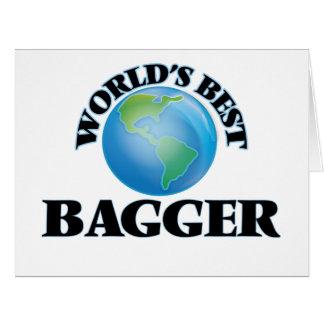 O melhor Bagger do mundo Cartão