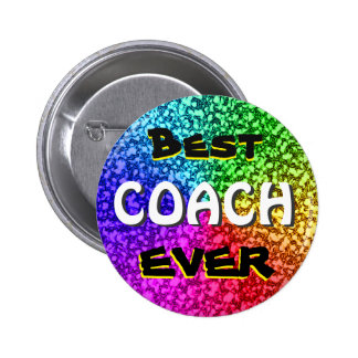O melhor botão do treinador nunca bóton redondo 5.08cm