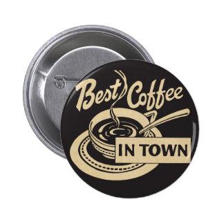 O melhor café na cidade bóton redondo 5.08cm