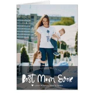 O melhor cartão com fotos do dia das mães da