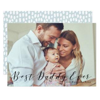 O melhor cartão com fotos do dia dos pais do pai