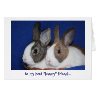 """o melhor cartão de páscoa do amigo do """"coelho"""""""