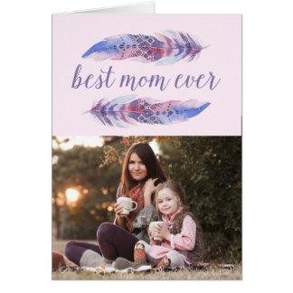 O melhor cartão do dia das mães da mamã sempre |