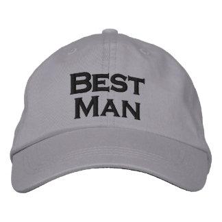 O melhor chapéu do homem boné bordado
