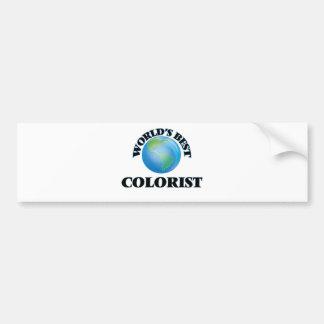 O melhor Colorist do mundo Adesivo Para Carro